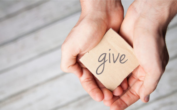 The Importance of 'Giving' for the People in Need